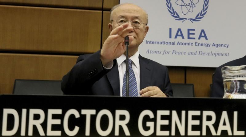Amano missed a special meeting of the board called at the US's request after it was confirmed that Iran had broken two limits in the landmark 2015 nuclear deal, called the Joint Comprehensive Plan of Action (JCPOA). (Photo: AP)