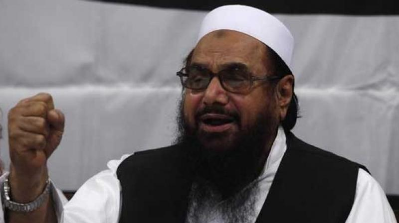 JuD chief, Hafiz Mohammad Saeed, was recently arrested by the counter-terrorism police in Gujranwala, Punjab, under charges of terror financing. (Photo: File)