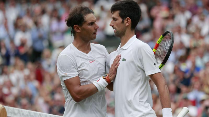 Nadal also lost the world number one ranking to Djokovic, whose battles with the Spaniard are one of modern sport's greatest rivalries.(Photo: AP)