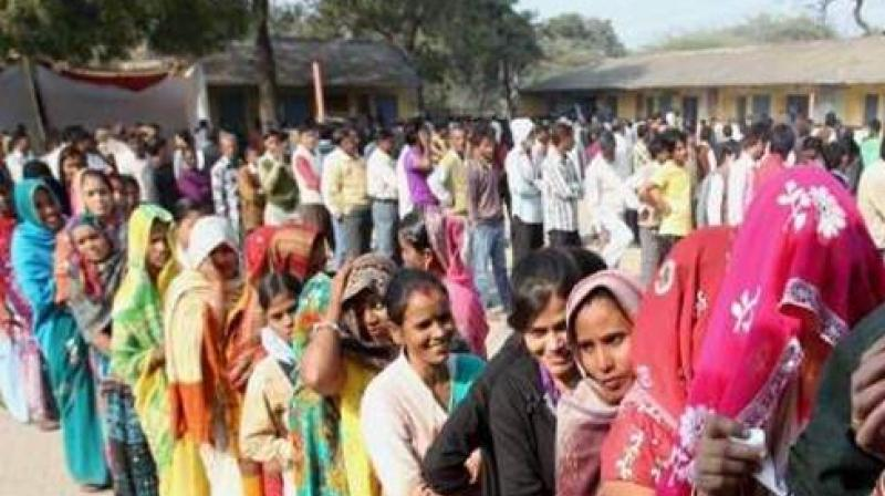 Heavy turnout of voters was witnessed in Nandyal rural and Gospadu mandals in the segment with women outnumbering men. (Photo: PTI/Representational)
