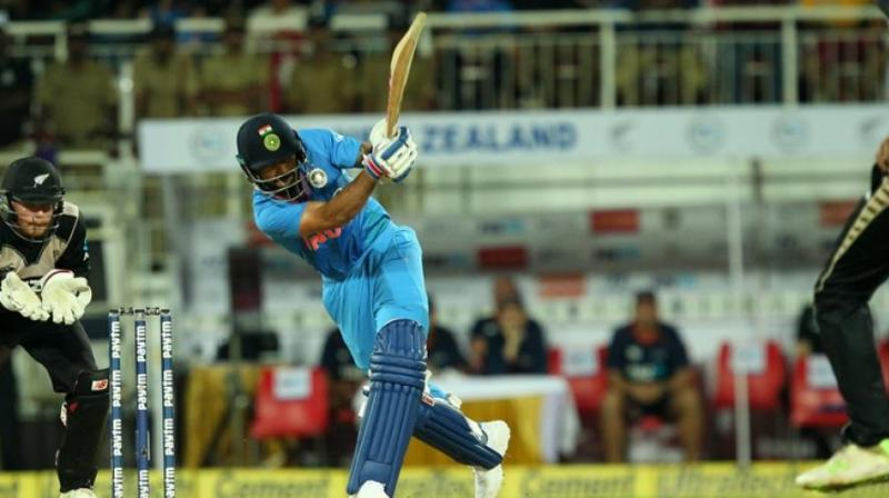 Virat Kohli captain of India during the 3rd T20I match between India and New Zealand held at the Greenfield Stadium, Thiruvananthapuram. (Photo: BCCI)