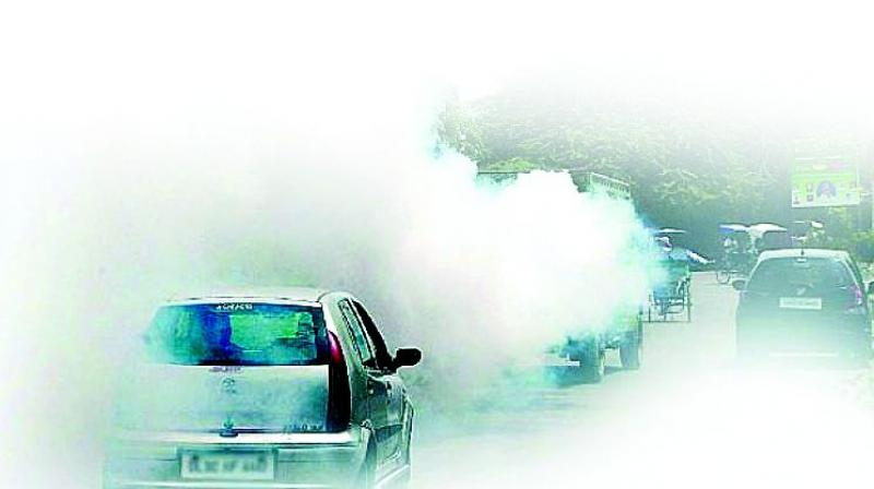 Air Pollution Linked To Slower >> Hyderabad S Air Quality Index Worse Than Delhi S