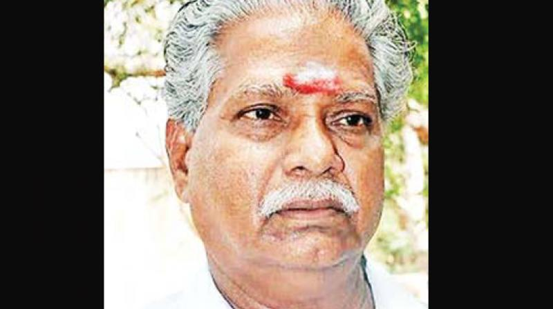 Doraikannu,  TN Agriculture Minister
