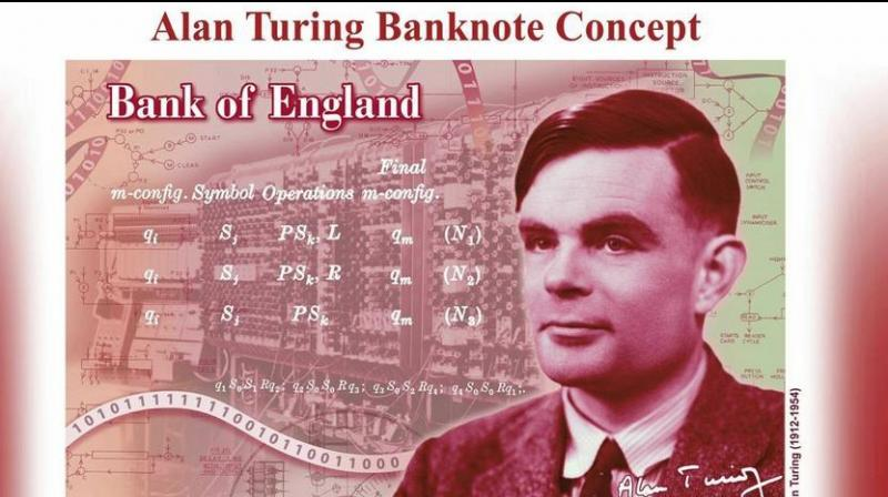 WW II codebreaker Alan Turing will feature on new United Kingdom banknote