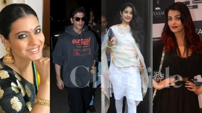 Shah Rukh Khan, Sonam Kapoor and other Bollywood stars spotted at the Mumbai airport. The gorgeous Aishwarya Rai Bachchan , Janhvi Kapoor snapped in the city. Check out such more pictures of your favourite Bollywood stars right here. (Photos: Viral Bhayani)