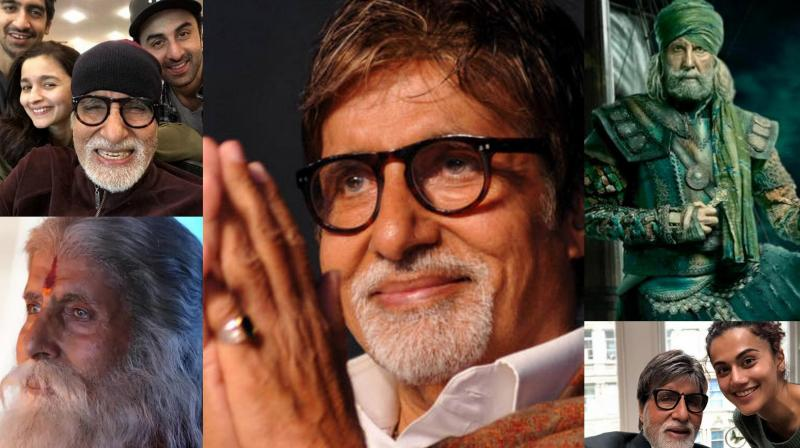 Amitabh Bachchan celebrates his 76th birthday today.