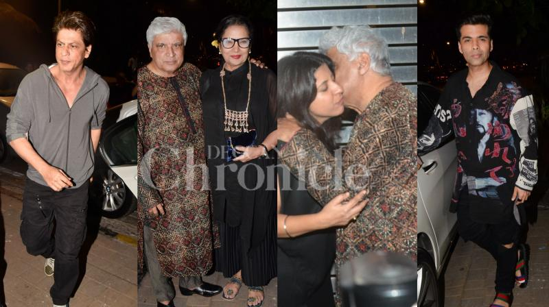 Film director Zoya Akhtar rings in her 46th birthday on October 14. Check out the photos of celebs who turned up to celebrate Zoya's special day. (Pictures: Viral Bhayani)