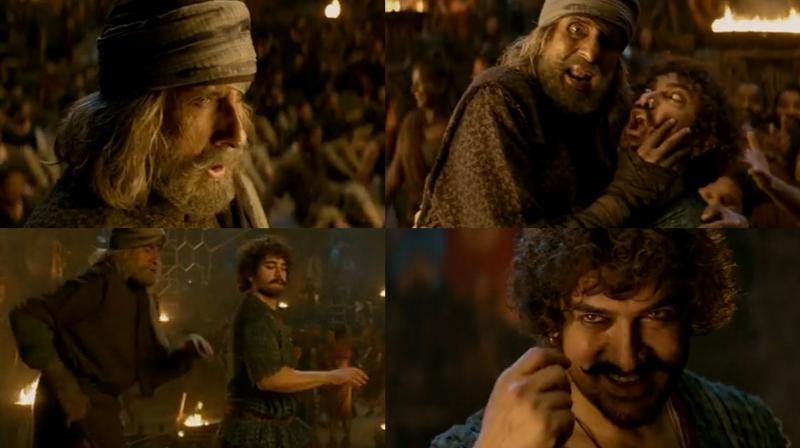 Thugs of Hindostan: Amitabh Bachchan & Aamir Khan shake a leg in Vashmalle