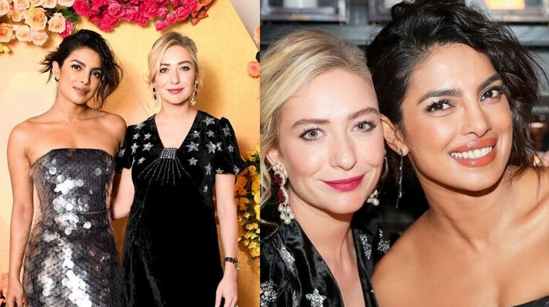 Priyanka Chopra and Whitney Wolfe Herd.