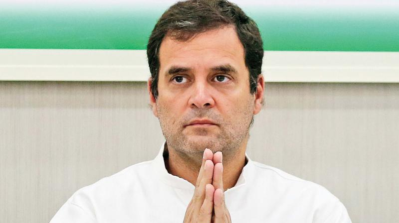 Rahul Gandhi took stock of the flood-affected areas across his parliamentary constituency and interacted with the local authorities as well.  (Photo: File)