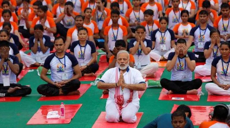 International Yoga Day: India sets 24 new world records