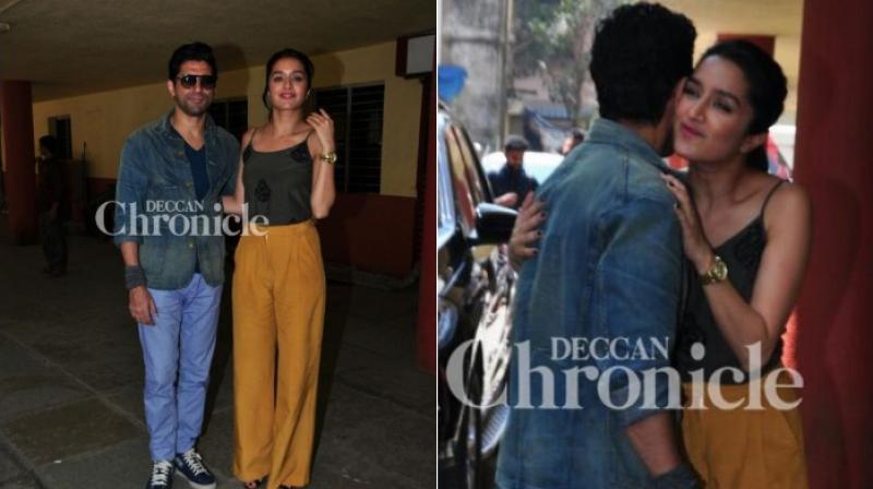Farhan Akhtar with Shraddha Kapoor.