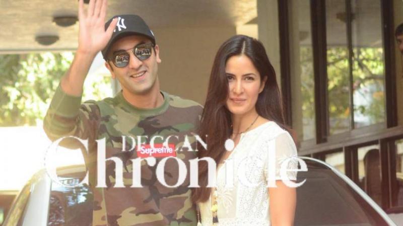 Ranbir Kapoor and Katrina Kaif.