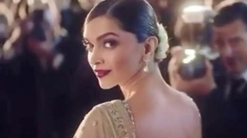 A still from Deepika Padukone's Bangladeshi ad.