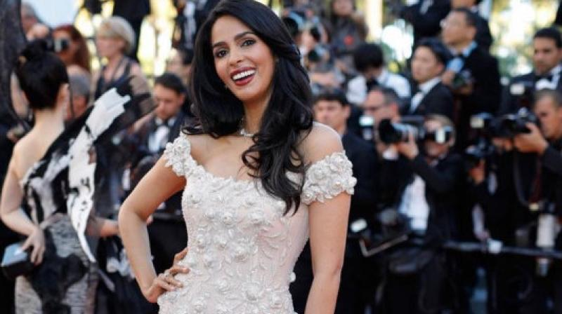 Mallika Sherawat at the Cannes Film Festival 2017. (Pic: Instagram/mallikasherawat)