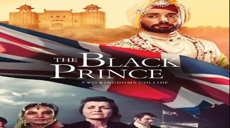 Poster of the film 'The Black Prince.'