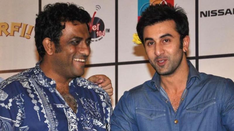 Anurag Basu and Ranbir Kapoor.