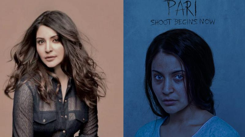 Anushka Sharma goes unrecognisable in the first look of 'Pari'.
