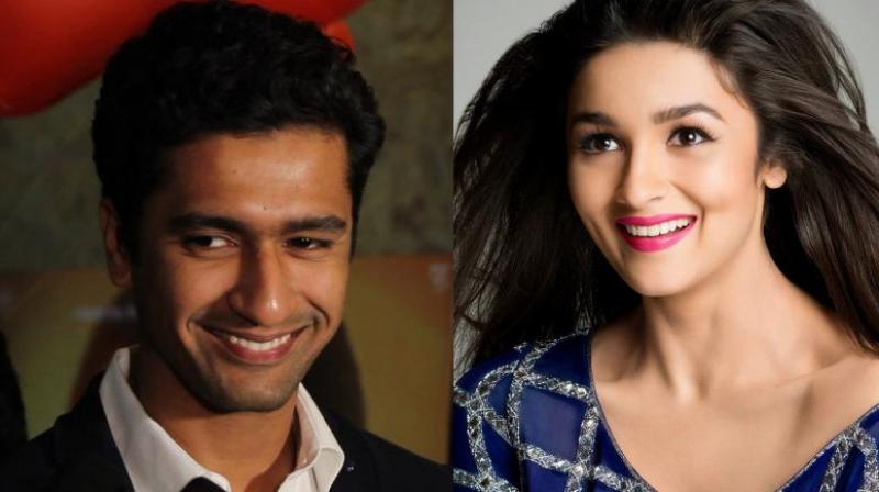 Vicky Kaushal and Alia Bhatt.