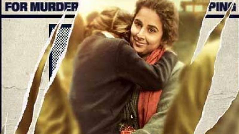 Poster of 'Kahaani 2'.