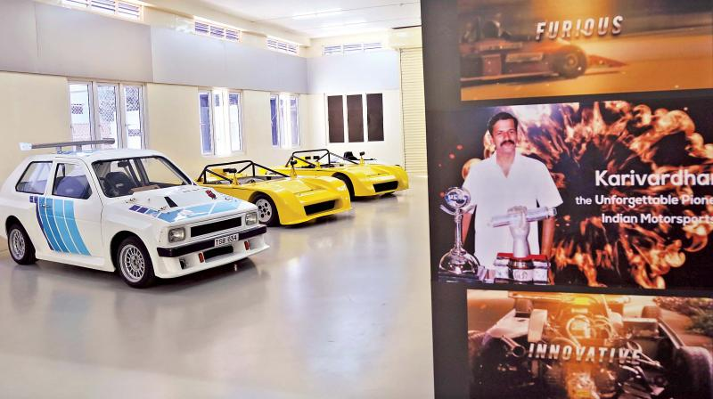 The special section showcases different cars built by the man besides having on display more than 200 pictures and 48 press articles published about him between 1973 and 1995.