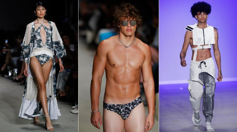 Sao Paulo's 46th Fashion Week, is underway this week featuring a new venue, a new format, and debut of four new labels. (Photos: AP)