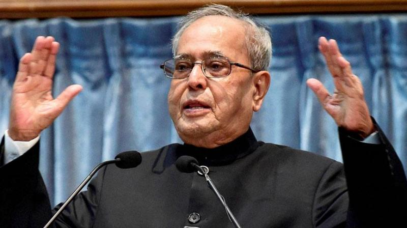 President Pranab Mukherjee addressed both houses of Parliament on Tuesday. (Photo: PTI)