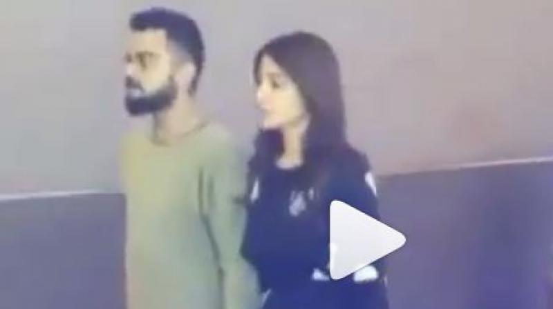 Virat Kohli's showers love on Anushka Sharma on her birthday