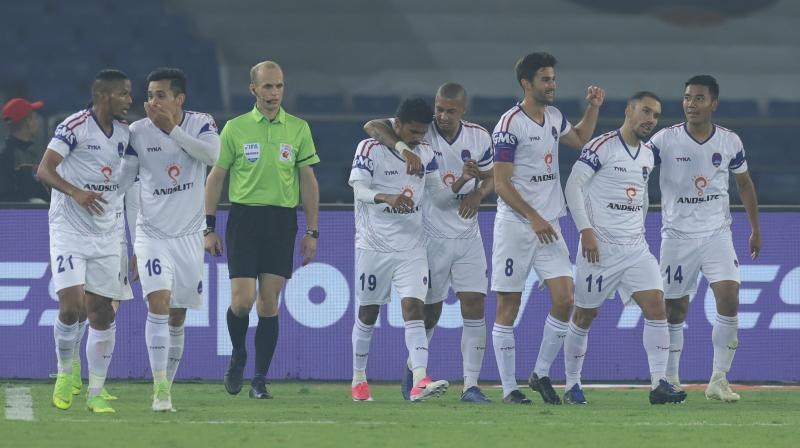 The win meant Delhi are now unbeaten in their last five matches, winning three of them. (Photo: ISL Media)