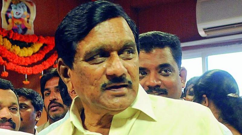 Andhra Pradesh Deputy Chief Minister K.E. Krishnamurthy