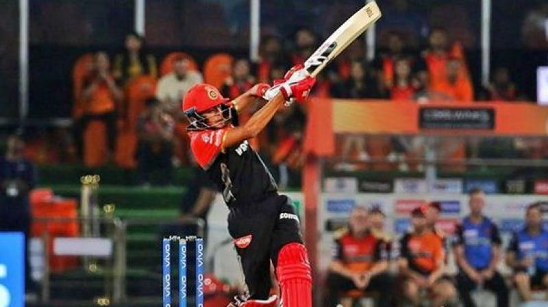 Prayas Ray Burman became the youngest IPL debutant (16 years-157 days) when he played for Royal Challengers Bangalore against Sunrisers Hyderabad at the Rajiv Gandhi International Stadium in Hyderabad on Sunday. (Photo: Instagram / Prayas Ray Barman)