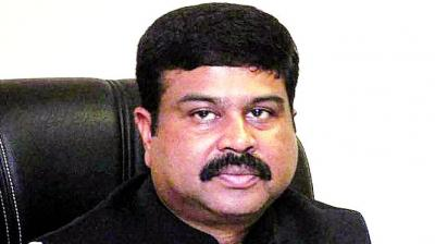 Oil minister Dharmendra Pradhan said energy is integral to achieving the target of early doubling the size of Indian economy to USD 5 trillion by 2024. (Photo: File)