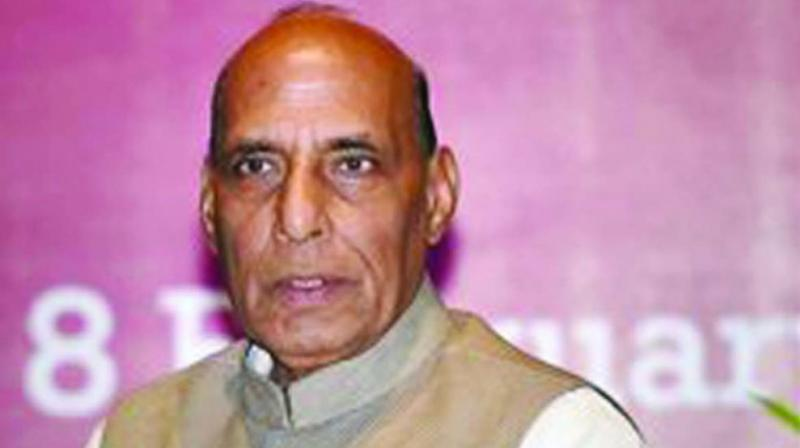 Union Home Minister Rajnath Singh (Photo: PTI)