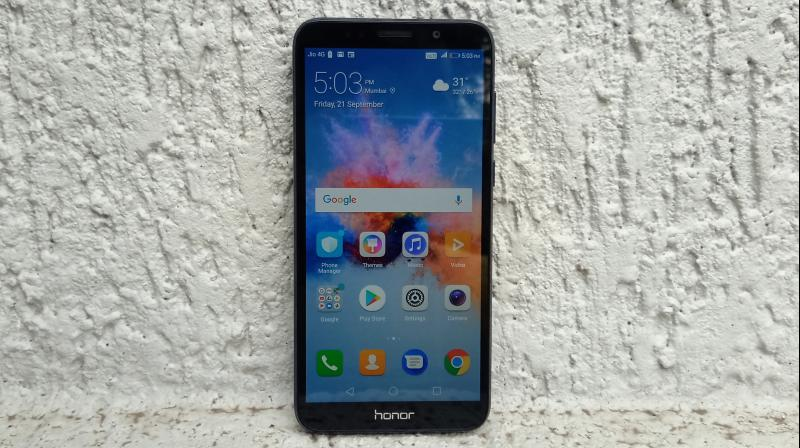 Honor has long been a player of the entry-level territory and its latest offering is the Honor 7S.