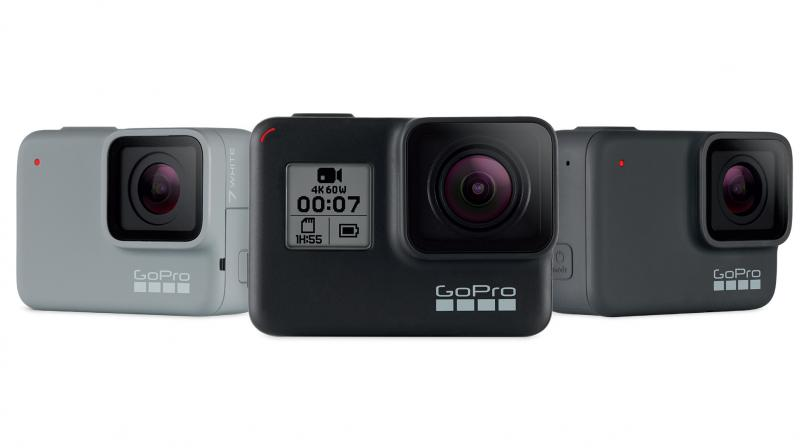 GoPro has also introduced cameras for newbies, active go-getters and social sharers of all ages.