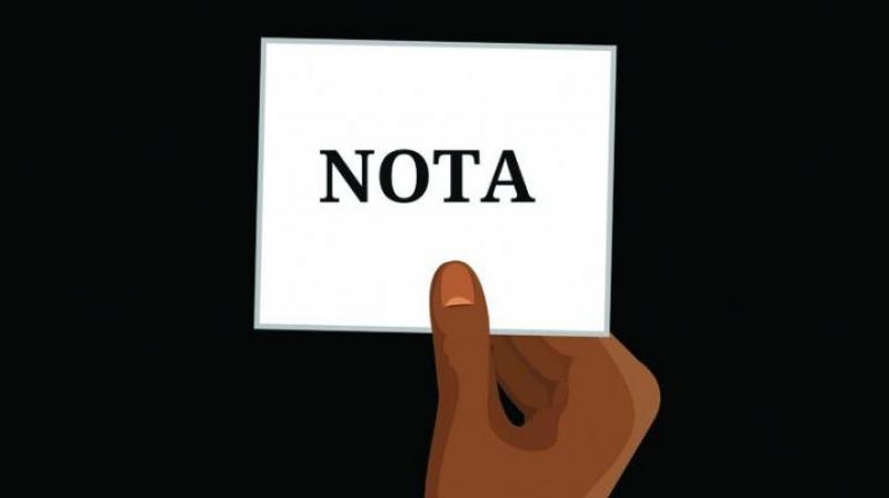 Several groups of citizens have been checking to see if the aspiring candidates from their constituencies have looked into issues that affect them, and if this is not the case, have decided that it will be Nota. (Representational Image)