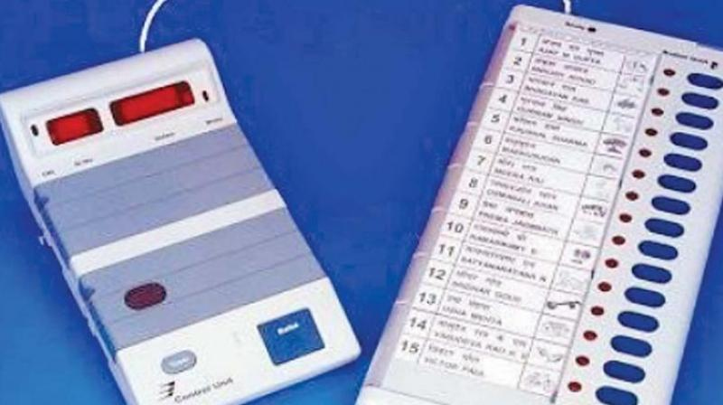 The two public sector undertakings tasked with manufacturing the latest M3 type EVMs to be used in Lok Sabha elections due this summer. (Representational Images)
