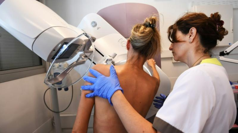 Thermal cameras are sometimes used by doctors to screen patients for breast cancer. (Photo: AFP)