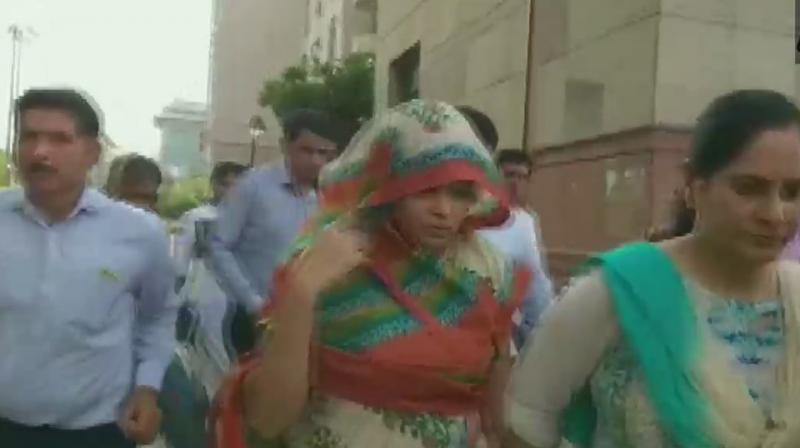 Rohit Shekhar Tiwari's lawyer wife Apoorva Shukla (Photo: ANI twitter)