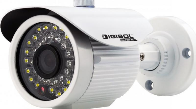 Nine high definition cameras have been installed across the city and they can cover long distances and be tilted in any direction.