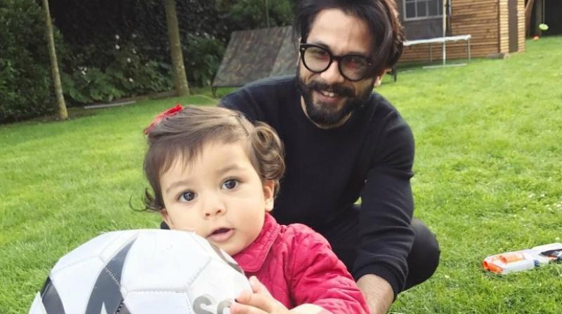 Shahid Kapoor and Misha