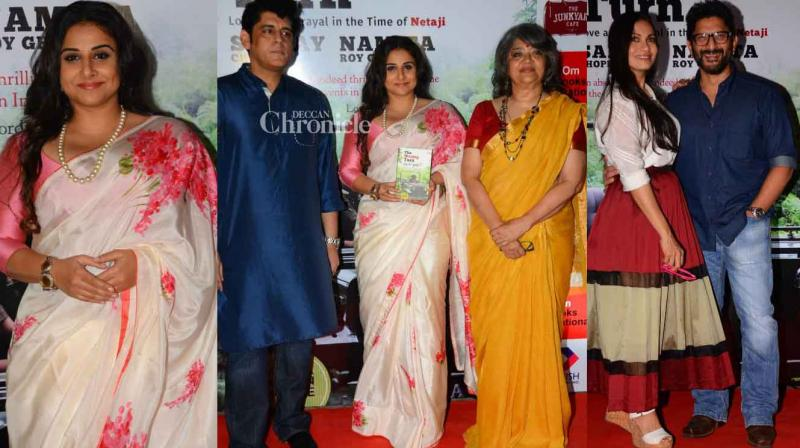 Vidya Balan, Arshad Warsi and several other stars were seen at the launch of the book 'The Wrong Turn' written by Sanjay Chopra and Namita Roy Ghose. (Photo: Viral Bhayani)