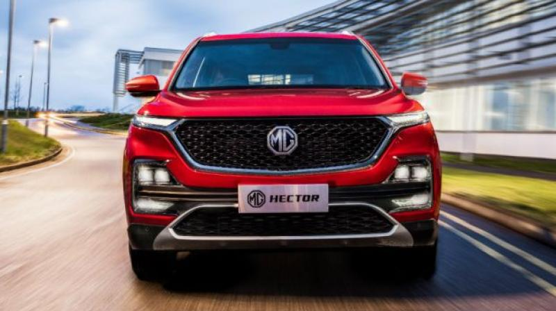 MG Motor has taken the wraps off the Hector, its first product for India.