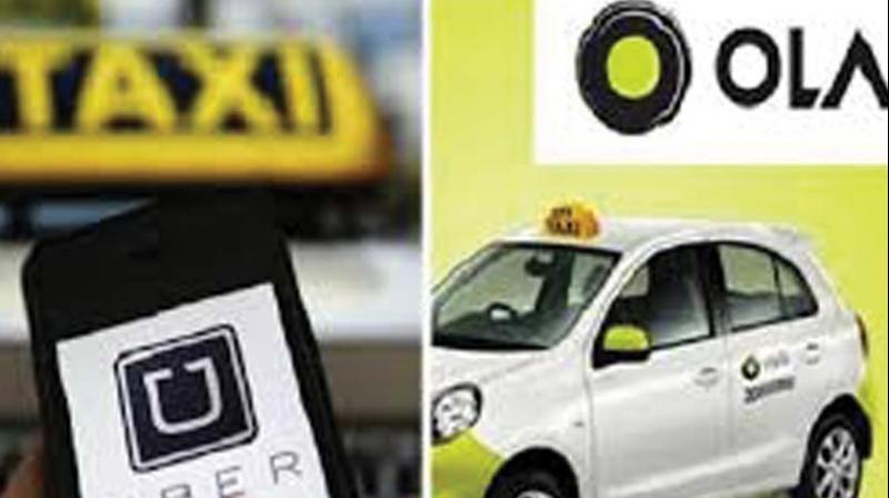 Online Ola and Uber