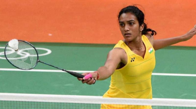 Sindhu will open her campaign against either Korea's Kim Hyo Min or Egypt's Hadia Hosny in the second round. (Photo: PTI))