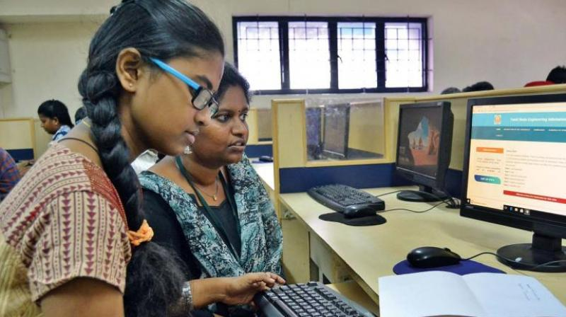 Engineering aspirants getting ready for Online Engineering Counseling from July 25- August 20