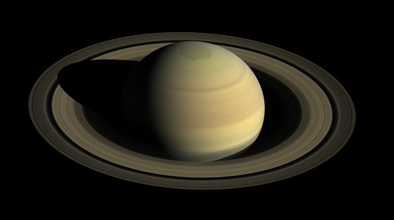 Since NASA's Cassini spacecraft arrived at Saturn in mid-2004, the planet's appearance has changed greatly. The shifting angle of sunlight as the season much forward has illuminated the giant hexagon-shaped jet stream (Photo: NASA)
