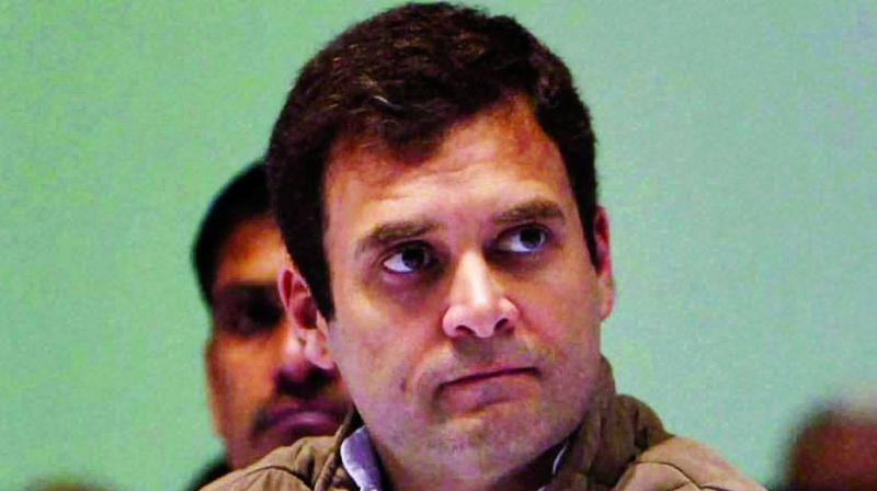 Before the assembly elections in Rajasthan, Madhya Pradesh and Chattisgarh, Rahul Gandhi had promised a waiver of outstanding loans if Congress were to come to power. (Photo: File)