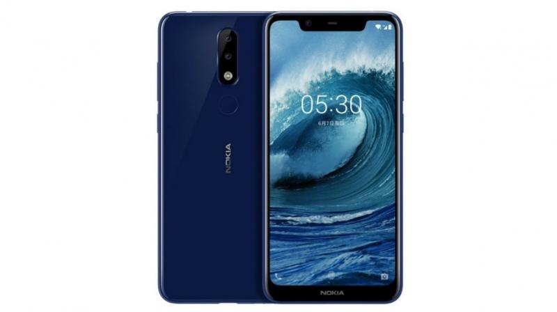 The Nokia 5.1 Plus is a part of the Android One programme, which further means that users will receive quick software updates.