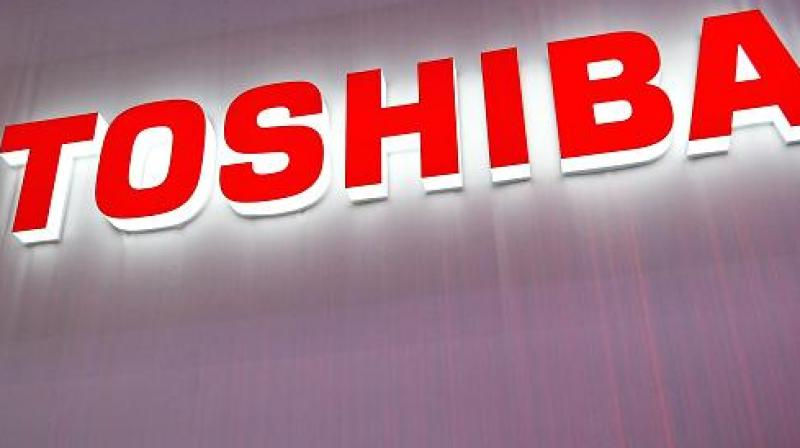 Toshiba shares surged as much as 11.8 per cent to near two-year highs after the announcement.